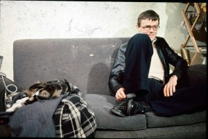 Paul Hallam from the early Four Corners' years. Taken by founder Four Corners' member © Wilf Thust