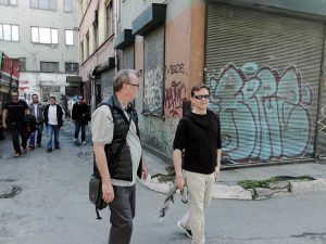 Paul Hallam with Gary Wickham in Istanbul (photograph by Sandy Snyder) 2